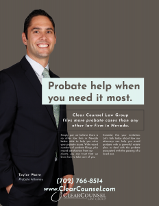 magazine ad for lawyers