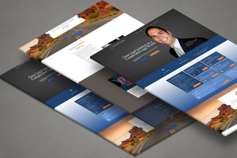 Las Vegas Law Firm Website Design