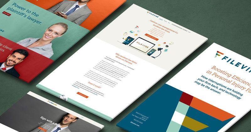 Filevine Website and Marketing
